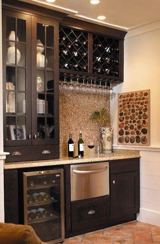 bar to store wine
