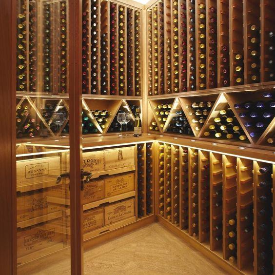 cellar to store wine
