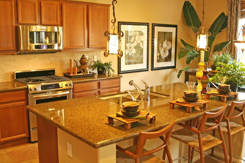 Warm kitchen design - New kitchen cost